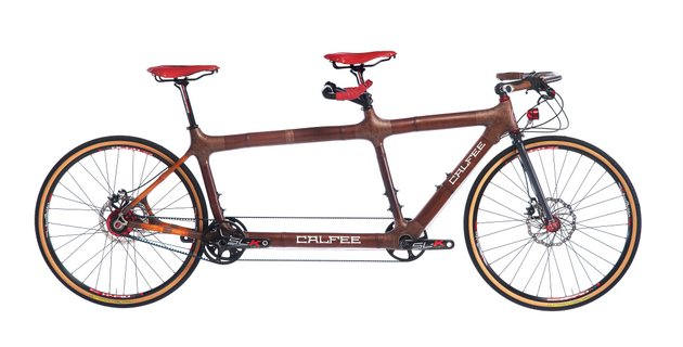 Bamboo Tandem Bicycle, Celfee Design