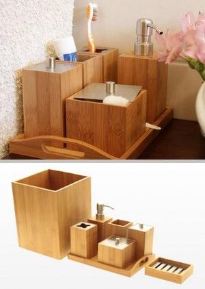 bamboo home accessories decor