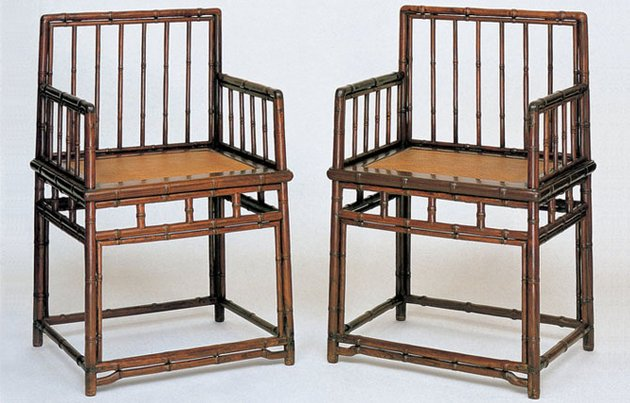 Ming Dynasty Huanghuali Wood Rose Chairs