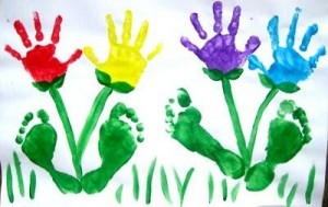 Look How Many Animals You And Your Child Can Do From Finger Prints Such Painting Is One Of The Best Ways To Develop Creative Thinking