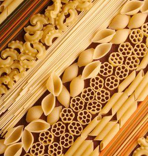 Noodle art, macaroni