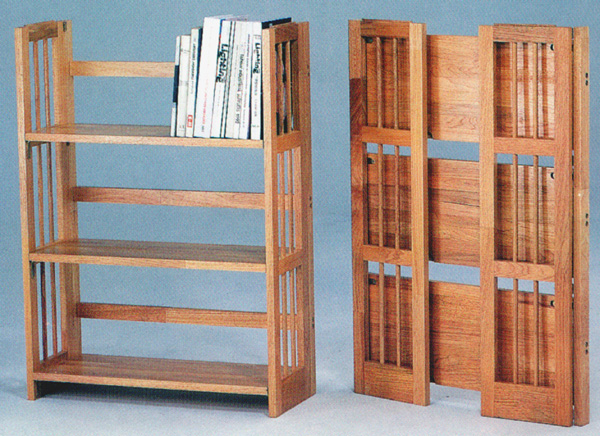 Folding Bookshelf - Bookshelves & Bookcases Designs