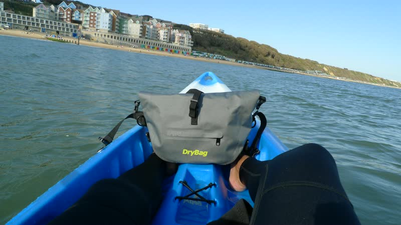 Kayaking with drybags