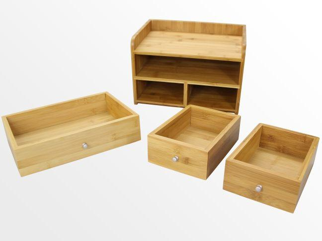 Desk Organiser with 3 Drawers