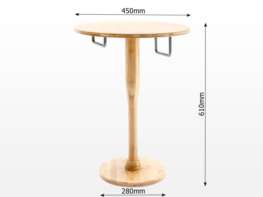 Dimensions of safe bedside table