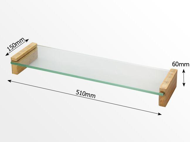 Dimensions of glass monitor stand