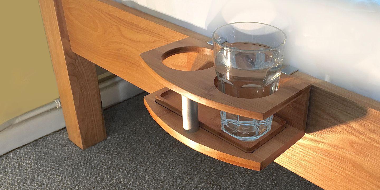 Clip on bedside cup holder watchthetrailerfo