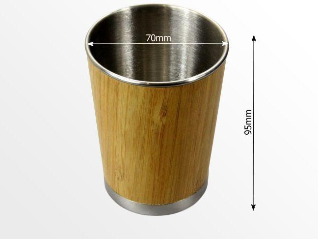 Dimensions of bamboo mug