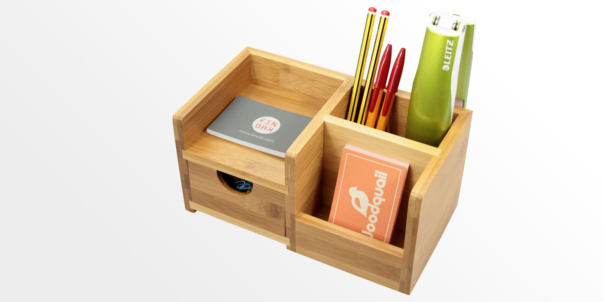 Desk Organiser Pen Holder And Drawer