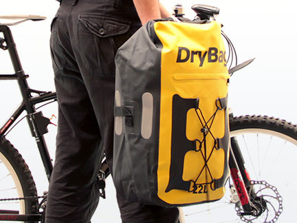 waterproof rucksack, bicycle rack bag