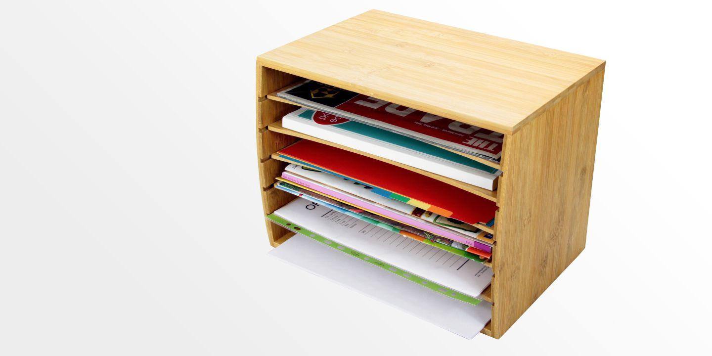 Cube Literature Sorter, A4 Document Organiser