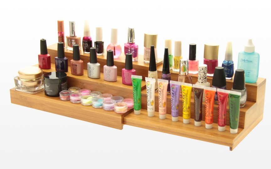 Make-up shelves