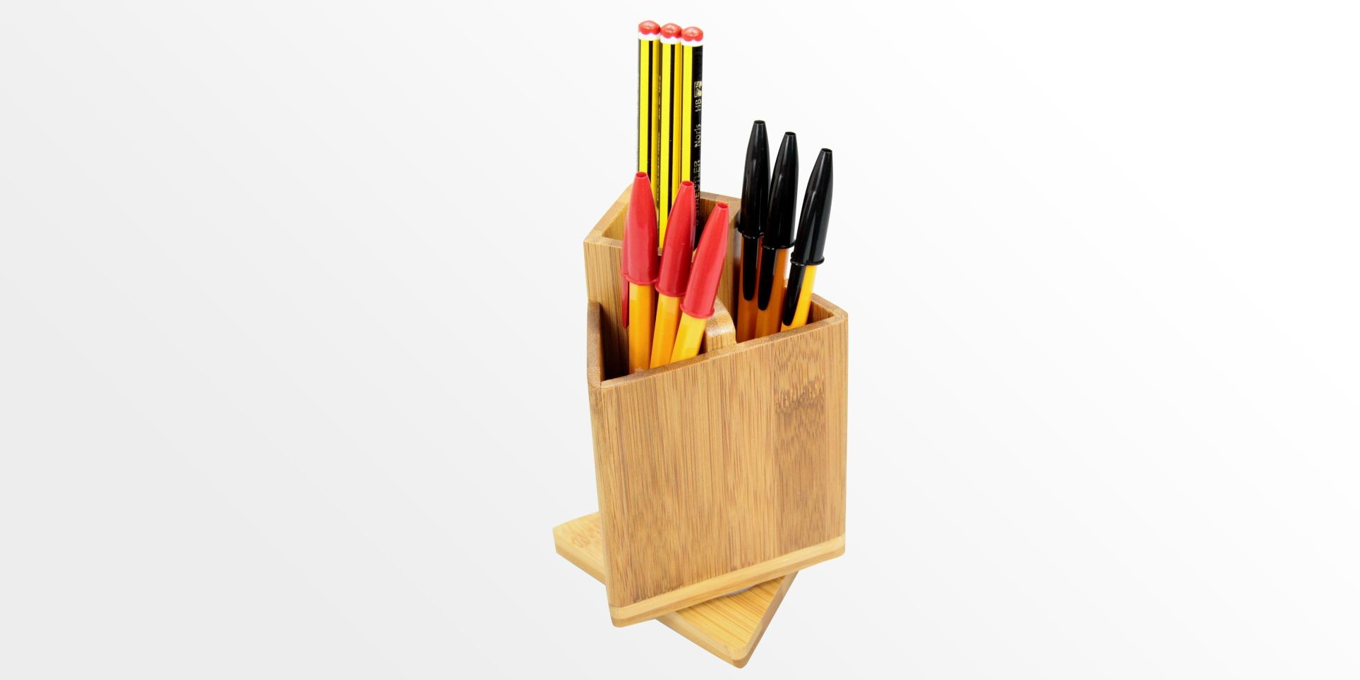 Revolving Pen Holder Pencil Pot
