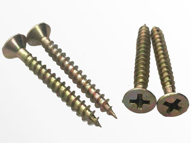 Glass rack screws
