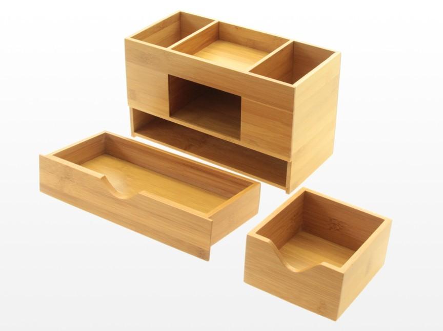 Desk Tidy desk tidy, stationery box, desk organiser | bamboo office supplies