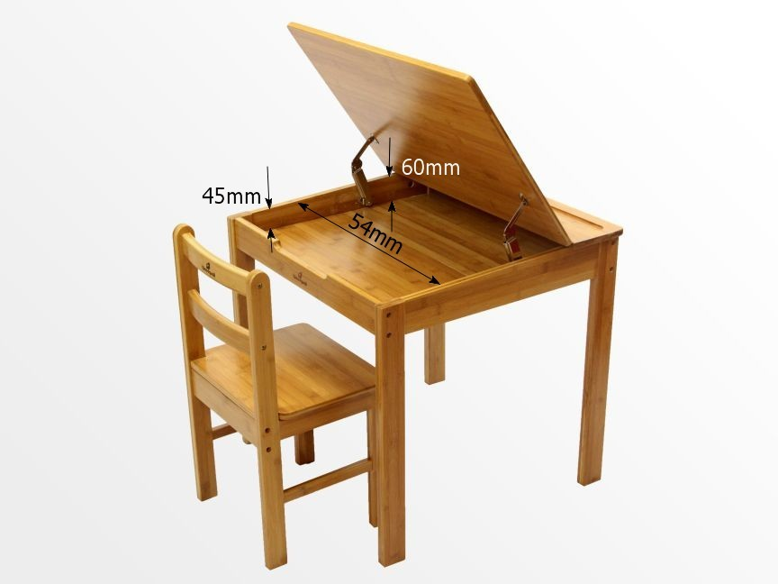 Dimensions of childrens table and chair