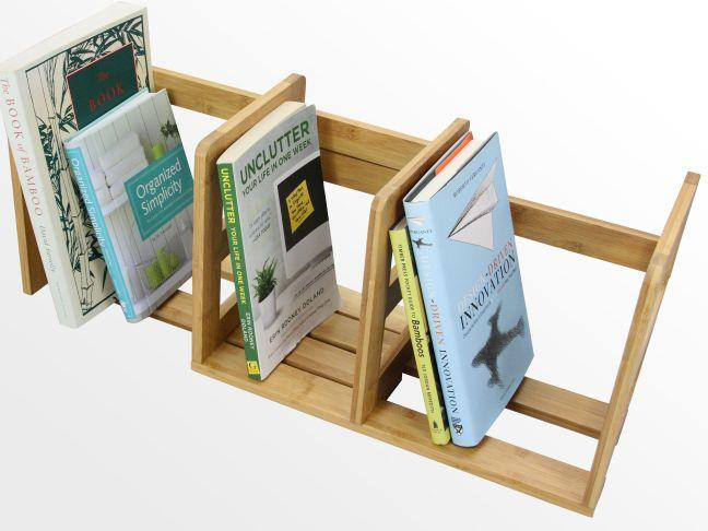 Expandable Adjustable Bookshelf