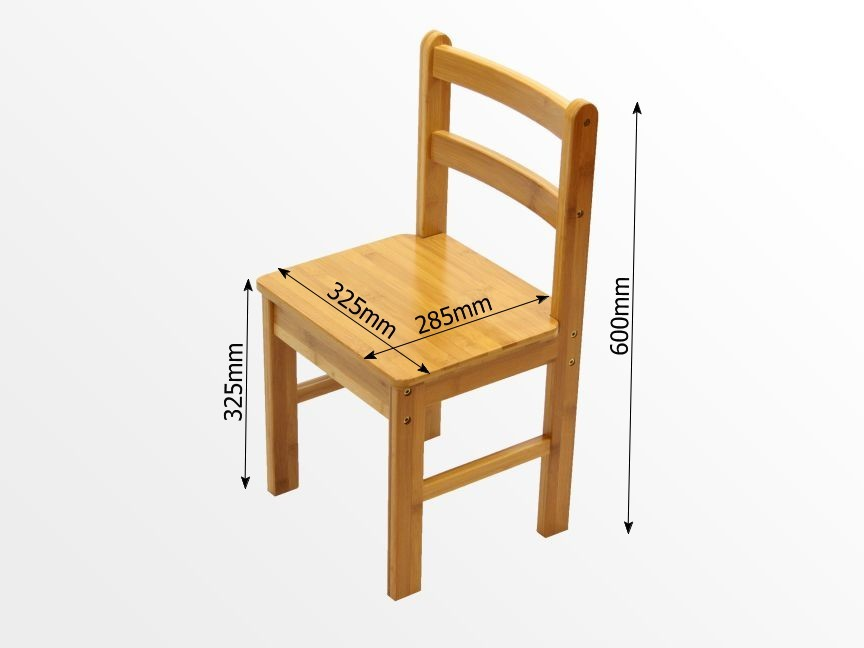 Bamboo Childrens Desk And Chair Set Arts And Crafts