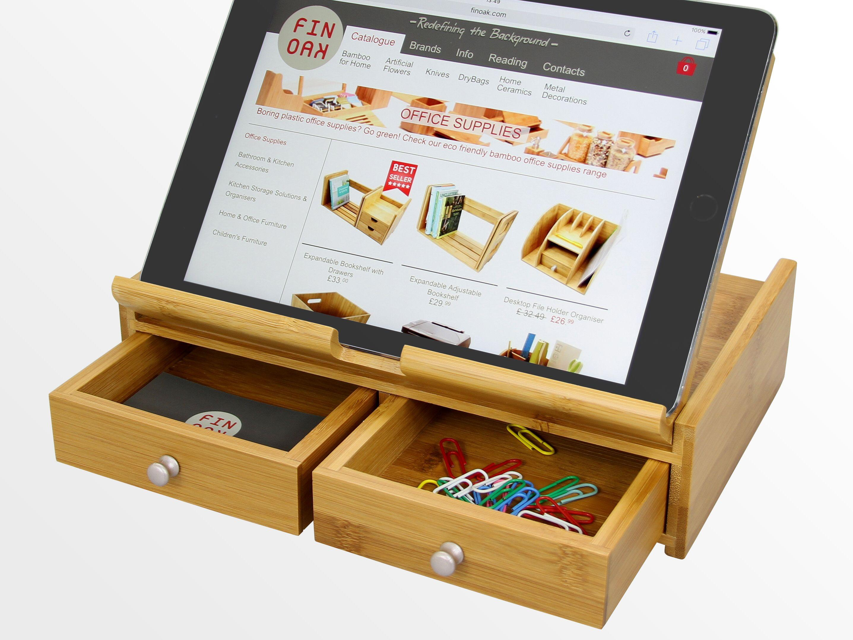 ipad phone boyfriends tidy gifts stand space work for gift day fathers pin organiser desk office home ideas