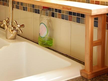 Sink Tidy, Over Sink Shelf | Bamboo