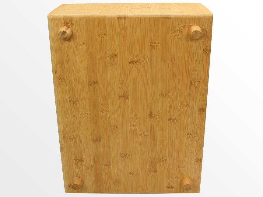 Bamboo bedside table
