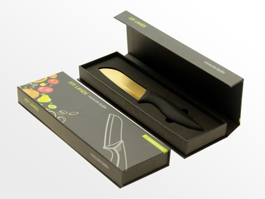 Quentons knives in a gift box
