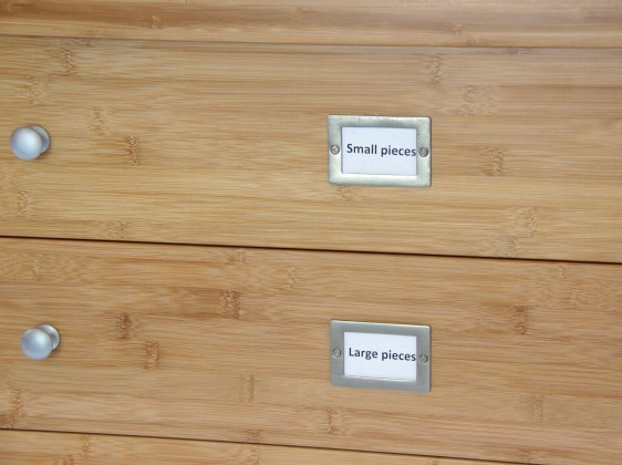 Construction Centre, Drawer with Badges