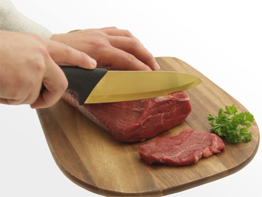 how to make a ceramic knife