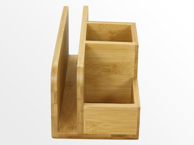bamboo desk tidy