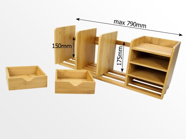 Dimensions of bookshelf