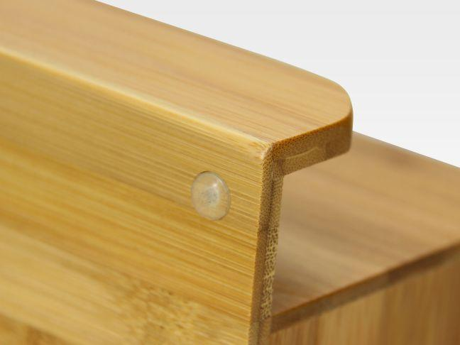Bamboo small desk organiser