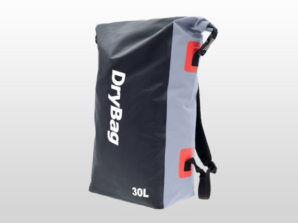 waterproof backpack, black travel pack
