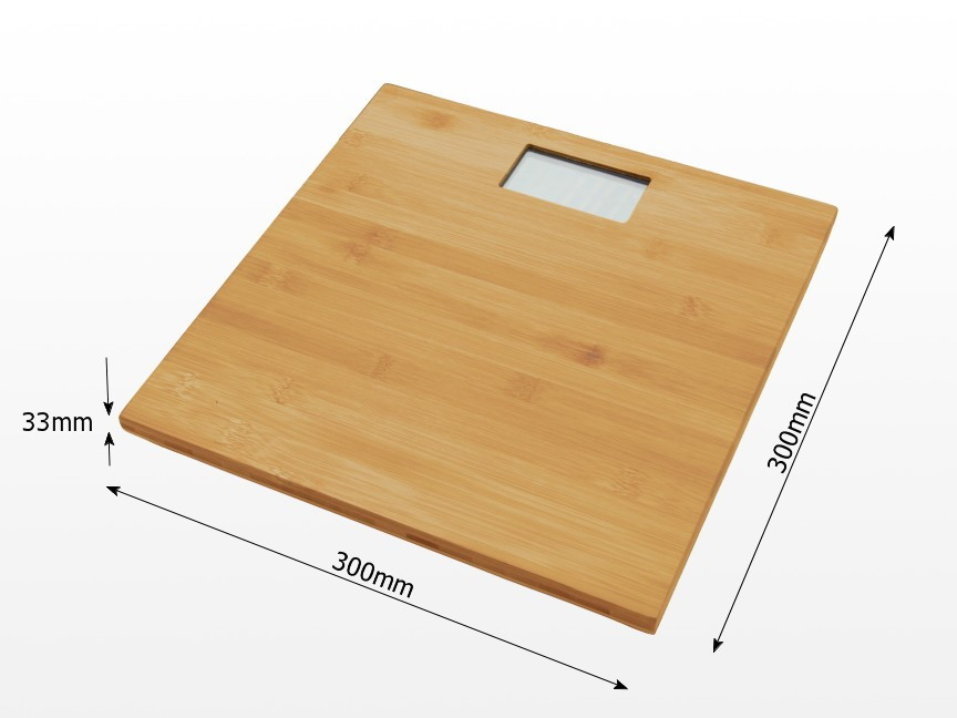 Bamboo Bathroom Scales
