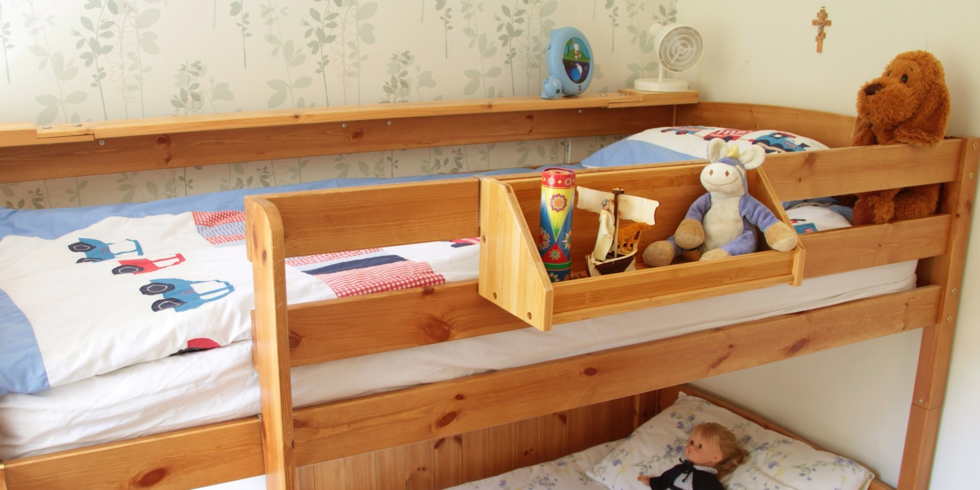 Bed Hanging Toys Shelf Bamboo Children S Furniture