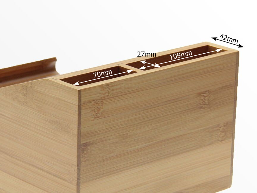 Dimensions of Bamboo iPad Stand