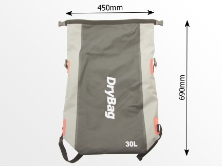 waterproof knapsack, roll-top rucksack