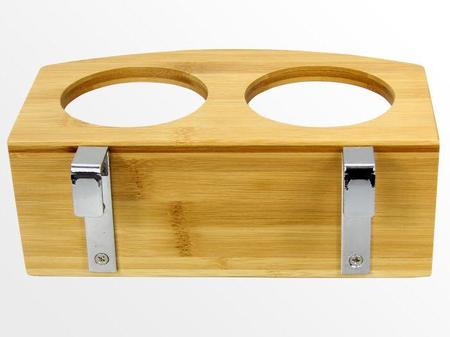 suspendu étagère BAMBOU clip sur table de nuit porte-gobelet