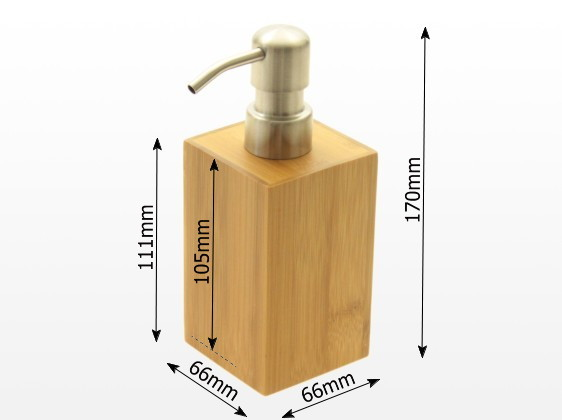 Dimensions of lotion dispenser
