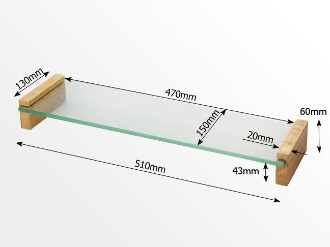 Dimensions of glass kmonitor stand