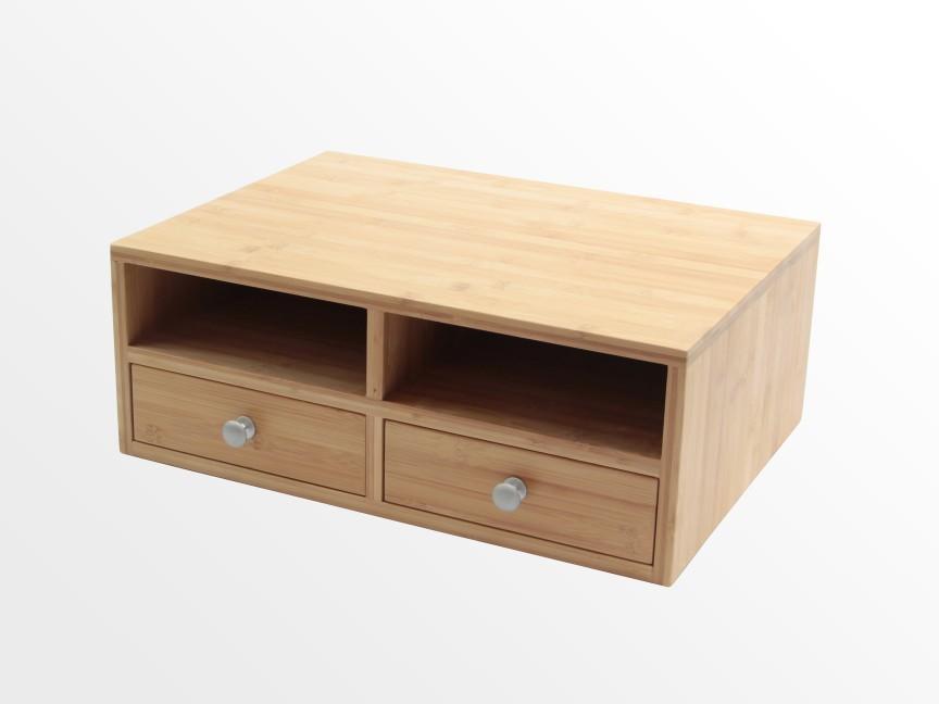 Desktop Printer Organiser | Bamboo Office Furniture | Office Supplies