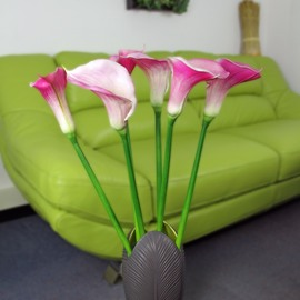 Artificial Jumbo Calla Lily - Pink