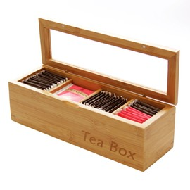 Tea Box, Tea Caddy (4 compartments)
