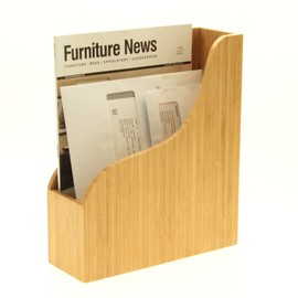 Bamboo Letter Rack, Document Holder