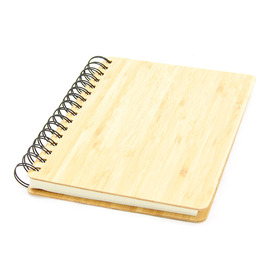 Bamboo Wirebound Notebook