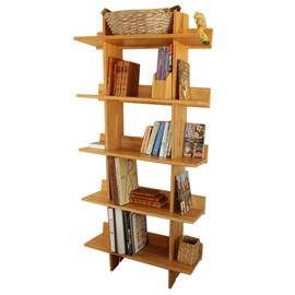 Bookcase, 5 Book Shelves