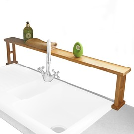 Bamboo Sink Tidy Shelf