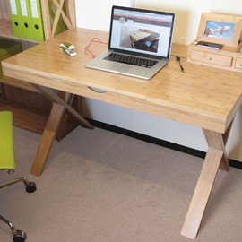 Cable-Tidy Home Office Desk