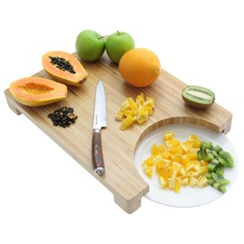 Bamboo Chopping  Board & Plate