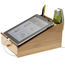 iPad Stand L Desk Tidy