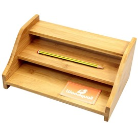 Bamboo 3 Step Shelf Organiser